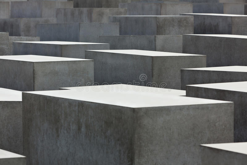 Jewish Holocaust Memorial, berlin germany stock image