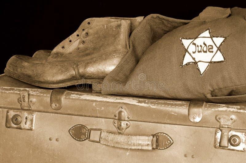 Jewish holocaust stock photo