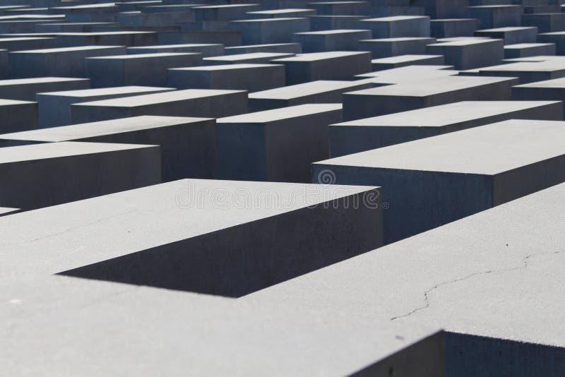 Jewish Memorial, Berlin, Germany royalty free stock photo