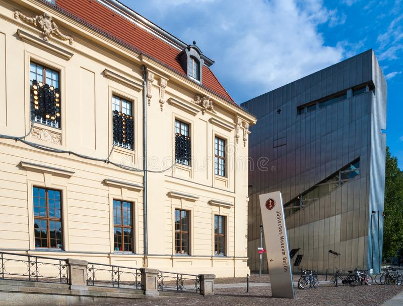 The Jewish Museum in Berlin, Germany stock images