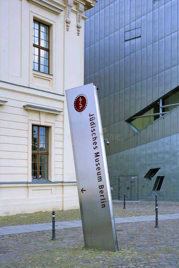 Jewish Museum, Berlin, Germany royalty free stock photo