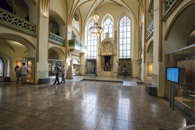 Jewish Museum in Prague royalty free stock photo