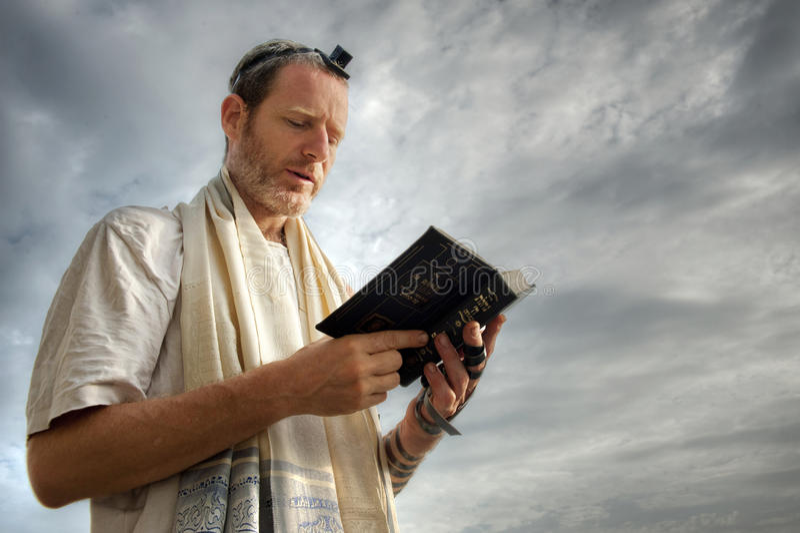 Jewish Prayer royalty free stock image