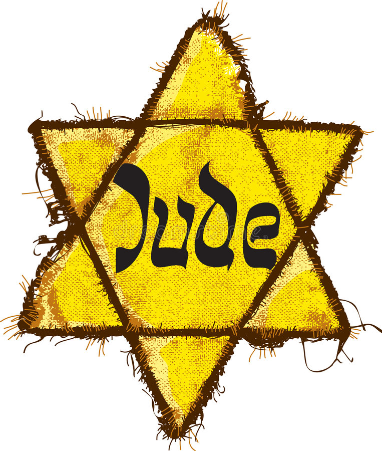 Free Jewish Yellow Star Classification Royalty Free Stock Images - 8649459