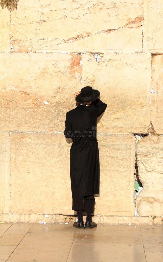 Jews pray at the Western Wall in Jerusalem