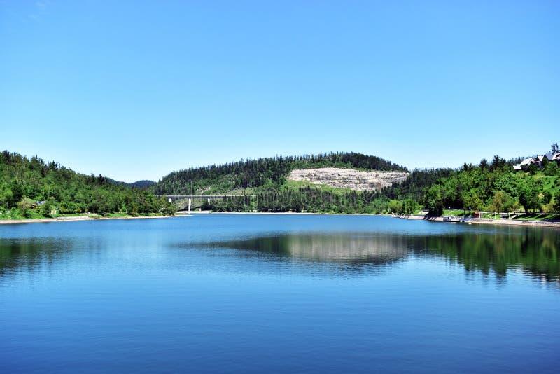 Jezero fotografia de stock royalty free