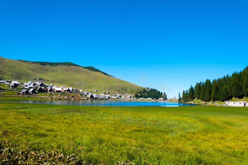 Jezero de Prokosko en la Bosnie-Herzégovine photographie stock