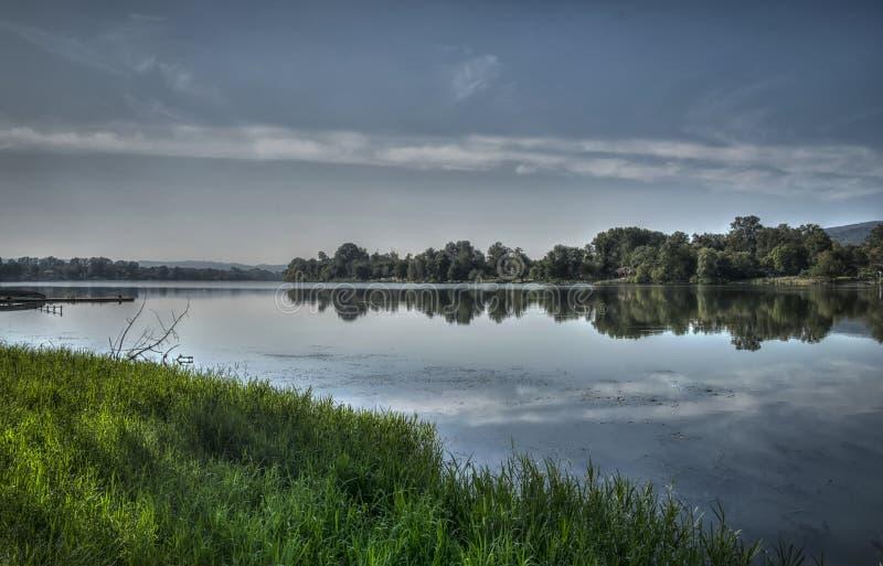 Jezero di Srebrno immagine stock libera da diritti