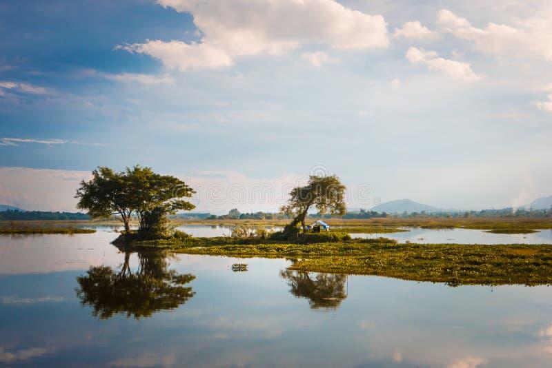 Jeziora miejscowy obrazy royalty free