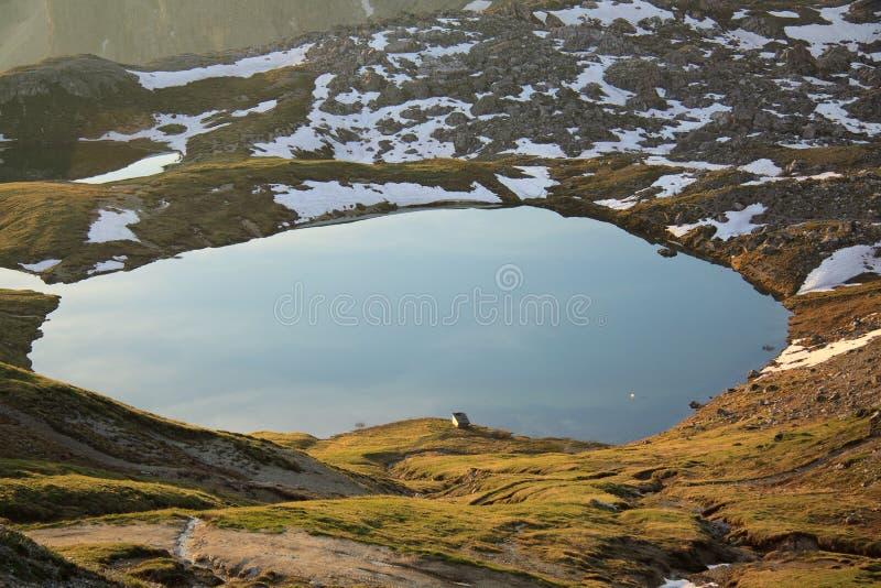 Jeziora plany zdjęcia royalty free