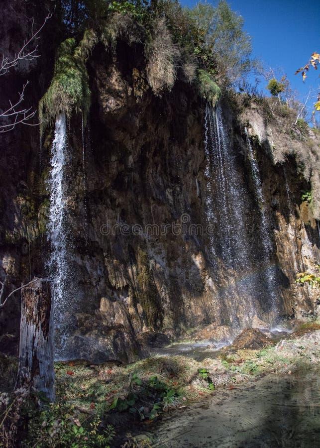 Jeziora plitvice w Croatia zdjęcie stock