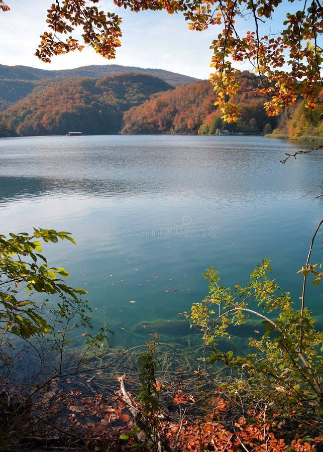 Jeziora plitvice w Croatia obrazy stock
