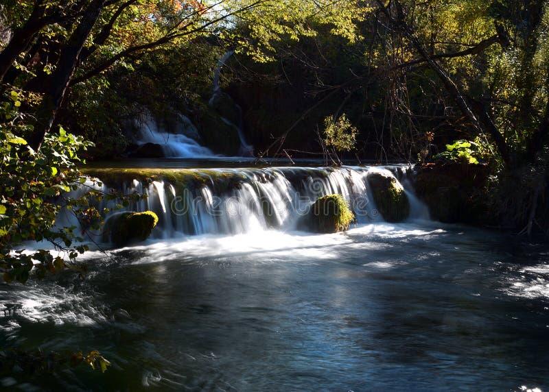 Jeziora plitvice w Croatia obrazy royalty free