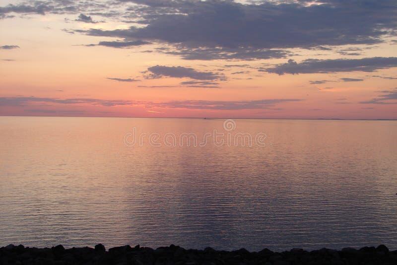 jeziora w sunrise przełożonych fotografia stock