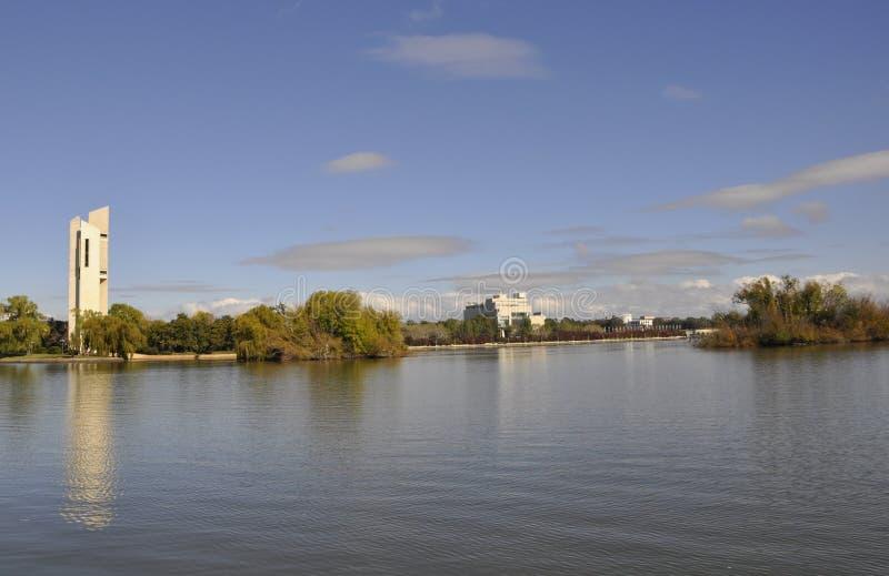 Jeziorna Burley gryfa linia brzegowa obraz royalty free