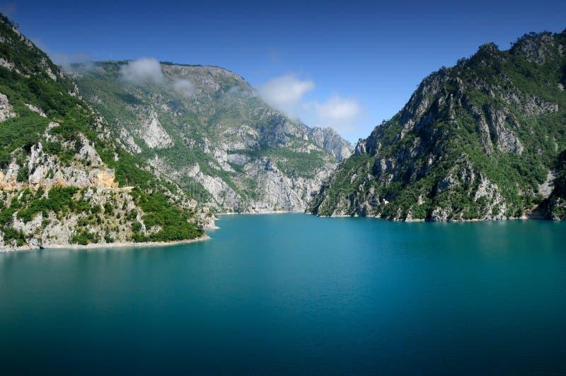 jeziorna góra obraz royalty free