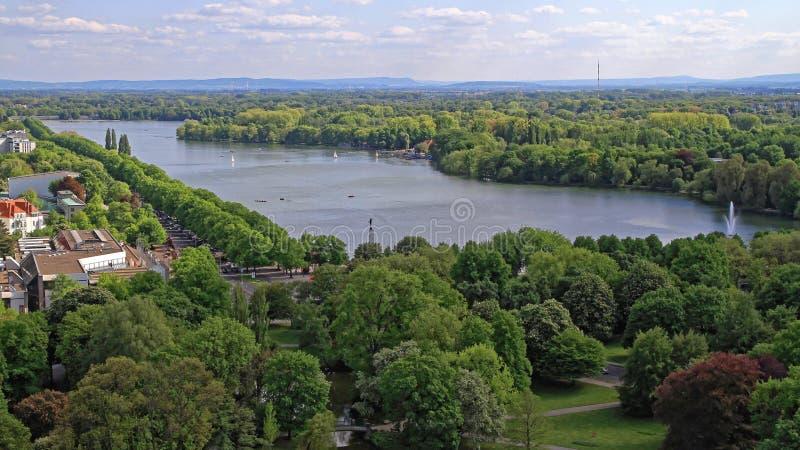 Jeziorna Hanover antena zdjęcia stock