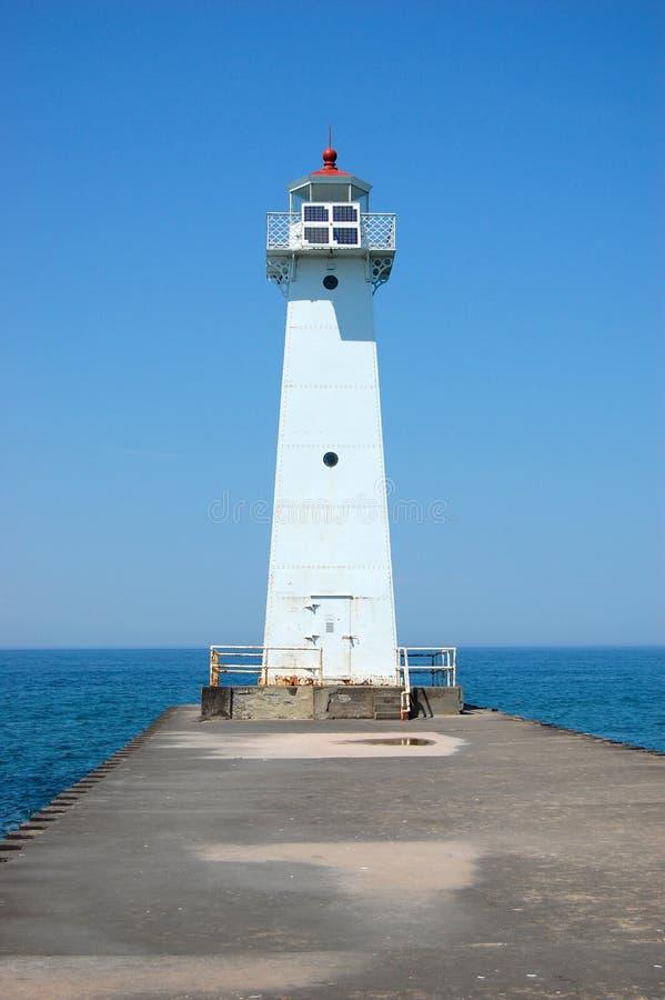 jeziorna latarnia morska Ontario obraz royalty free
