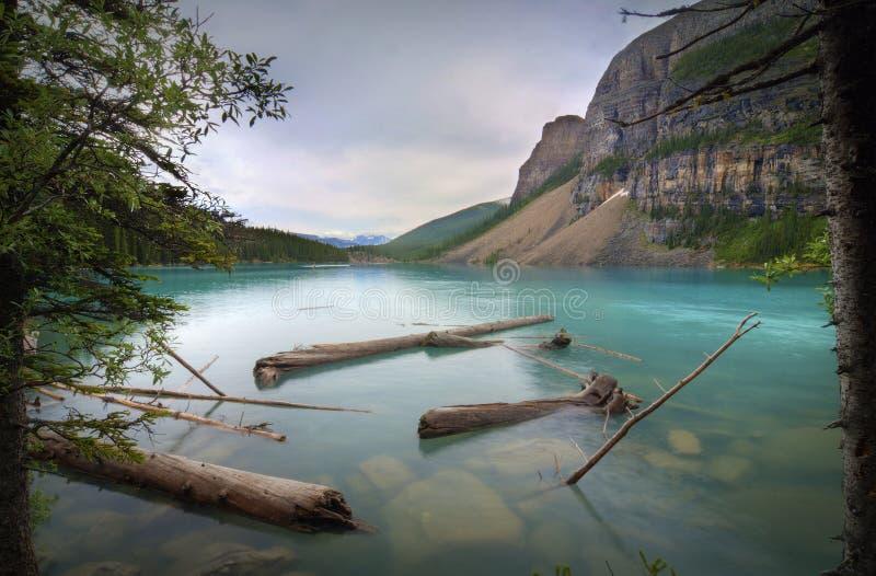 jeziorna morena zdjęcie royalty free