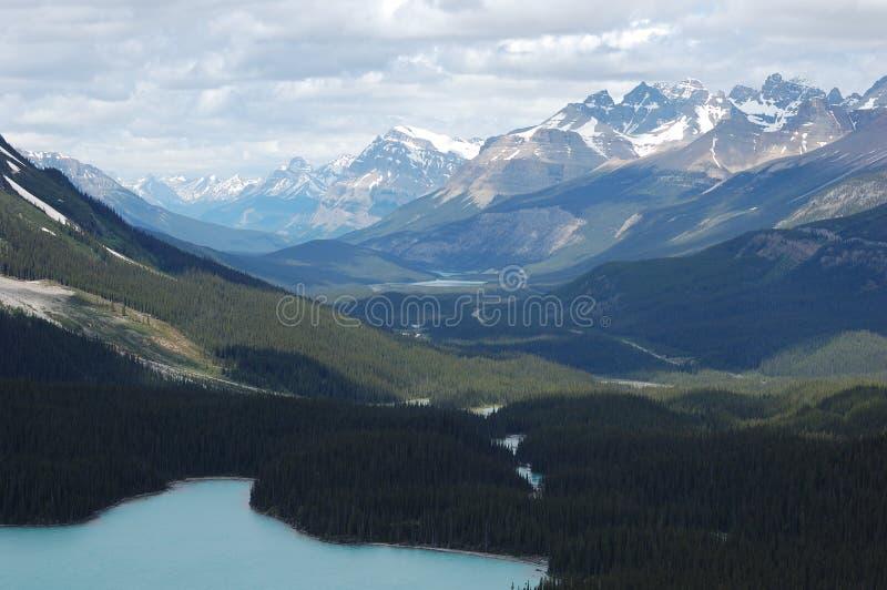 jeziorne góry skaliste obraz stock