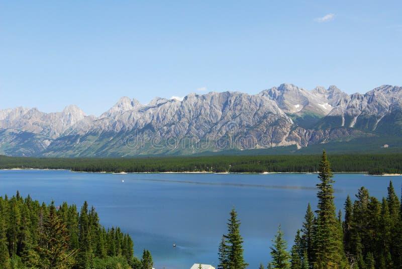jeziorne góry skaliste fotografia stock