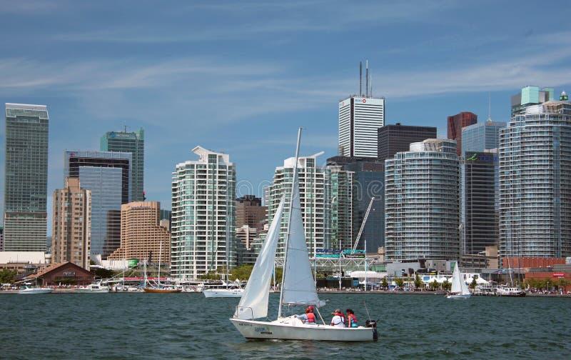 jeziornego Ontario Toronto widok obraz royalty free