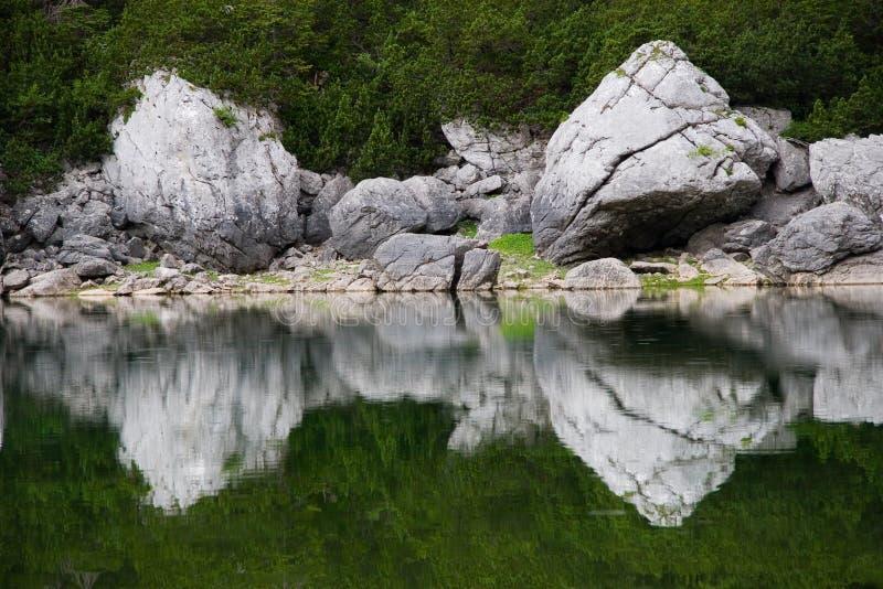 jeziorni odbicia zdjęcie royalty free