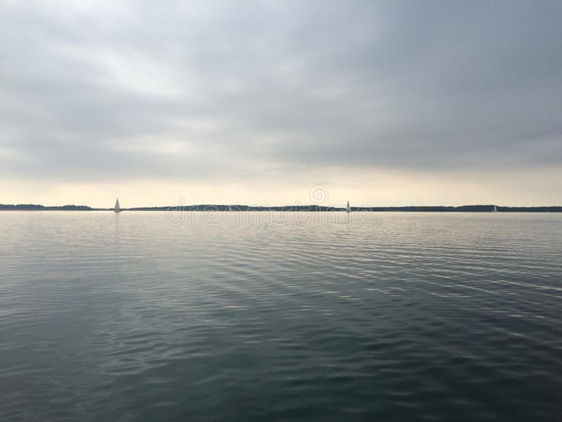 Jeziorny święty Maximin obrazy royalty free