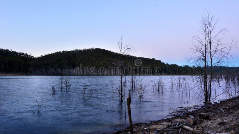 Jeziorny Advancetown w złota wybrzeżu Queensland Australia zdjęcie stock