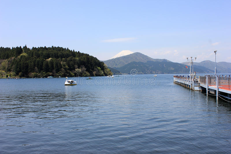 Jeziorny Ashi obraz stock