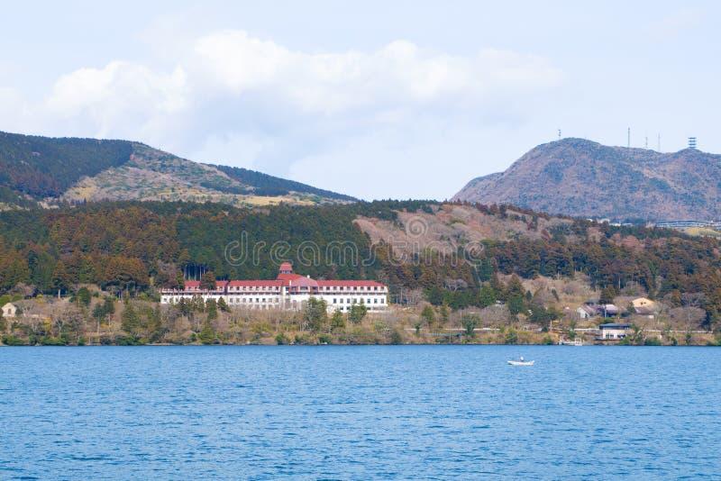Jeziorny Ashi, Hakone, Japonia zdjęcia stock
