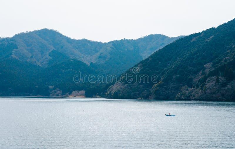 Jeziorny Ashi, Hakone, Japonia fotografia stock