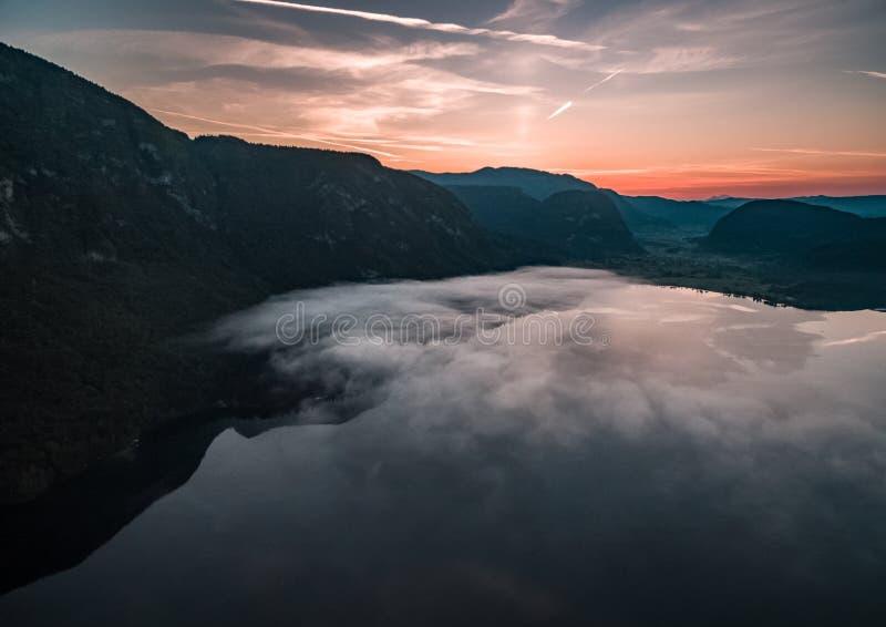 Jeziorny Bohinj obrazy royalty free
