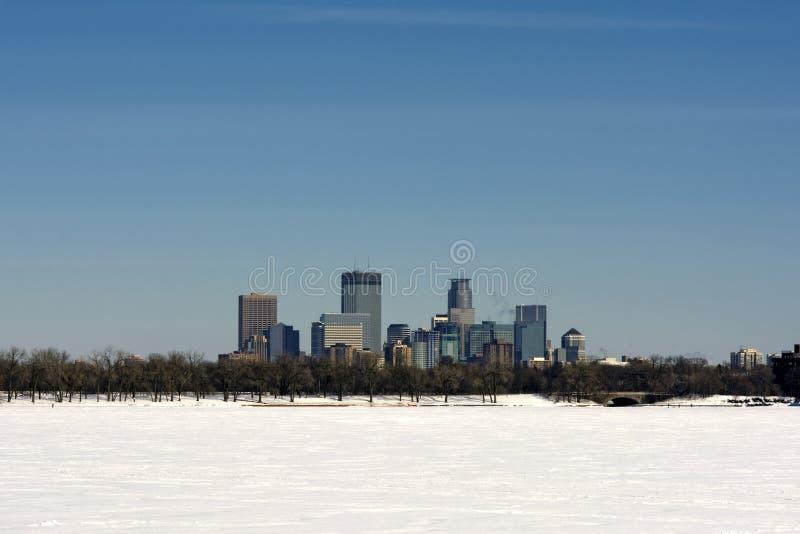Jeziorny Calhoun, Minneapolis, Minnestoa, usa fotografia stock
