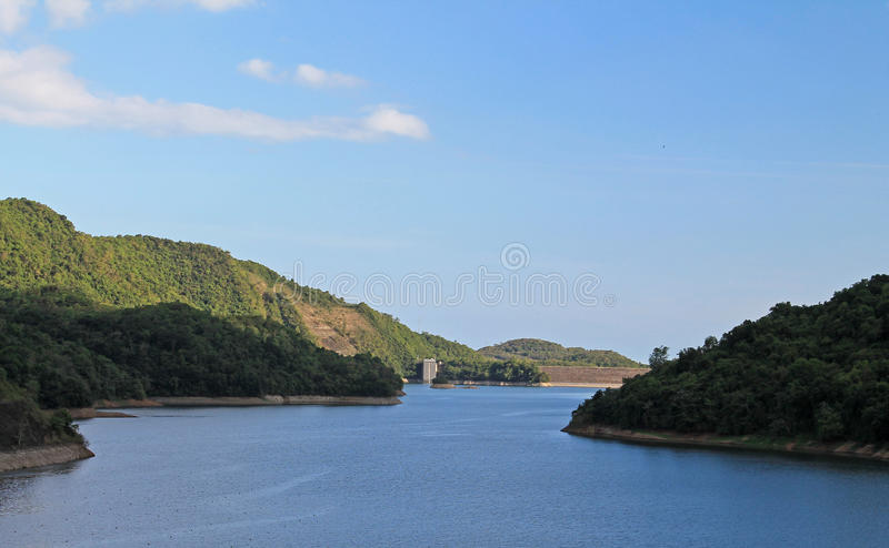 Jeziorny Cerrillos obraz stock