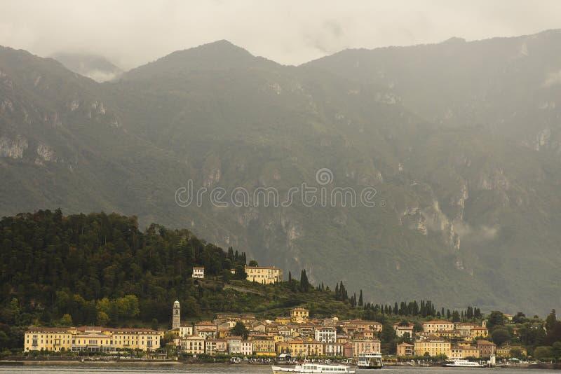 Jeziorny Como Tremezzo Włochy obrazy stock