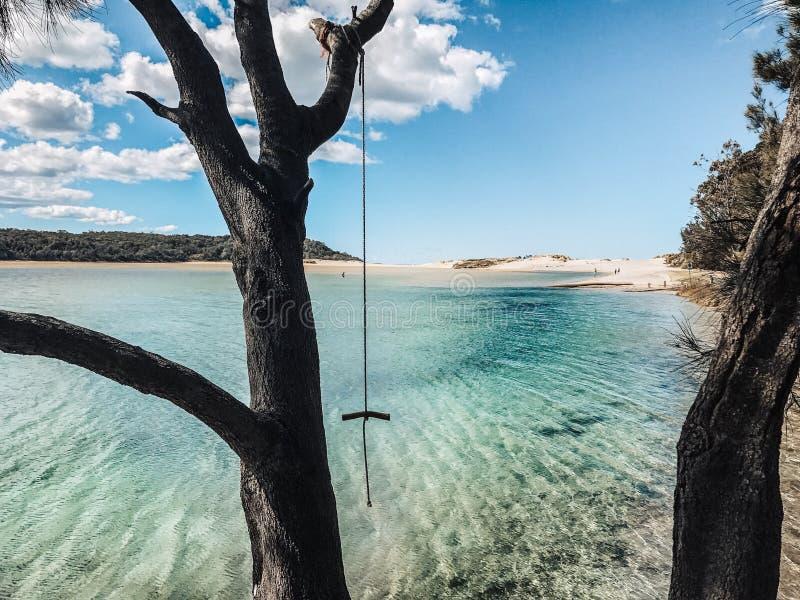 Jeziorny Conjola Australia fotografia stock