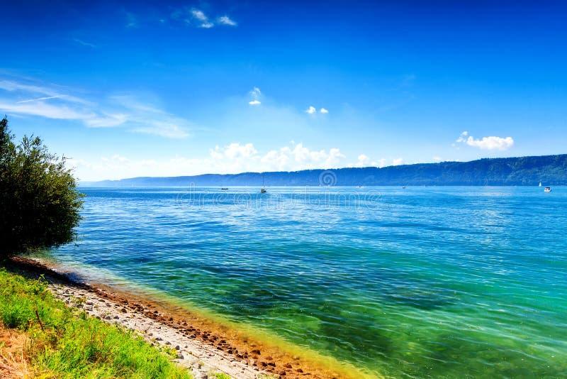 Jeziorny Constance Bodensee zdjęcia stock