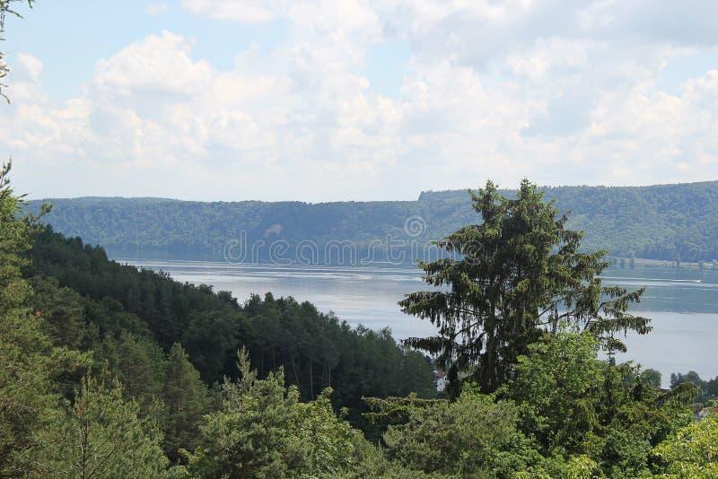 Jeziorny Constance i natura obrazy stock
