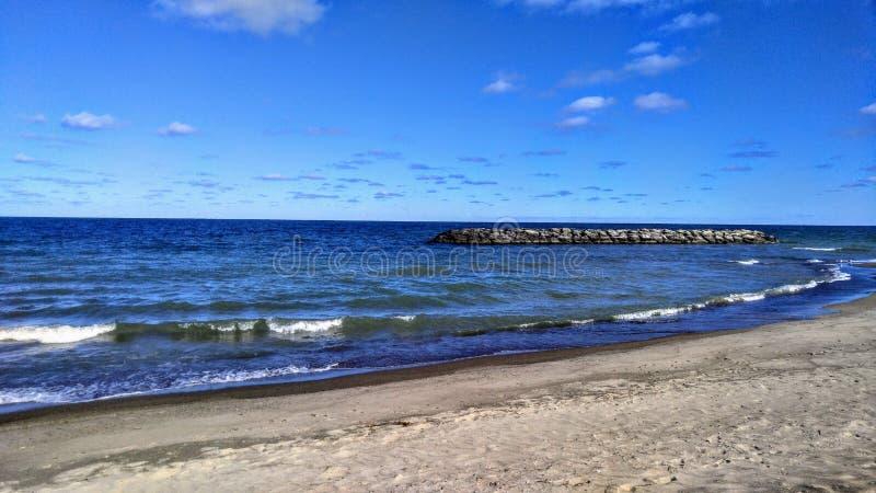 Jeziorny Erie obrazy royalty free
