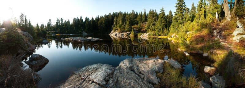 jeziorny góry tajemnicy seymour obrazy royalty free