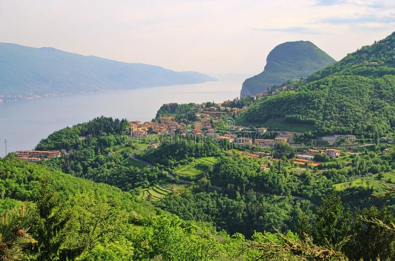 Jeziorny Garda Tremosine obrazy royalty free
