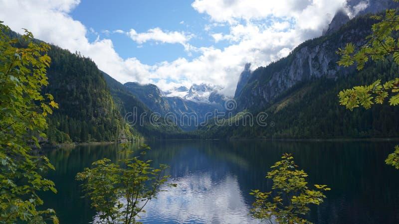 Jeziorny Gosau zdjęcie stock