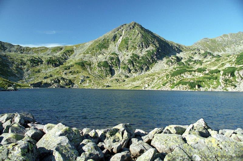 jeziorny halny szczyt obrazy royalty free