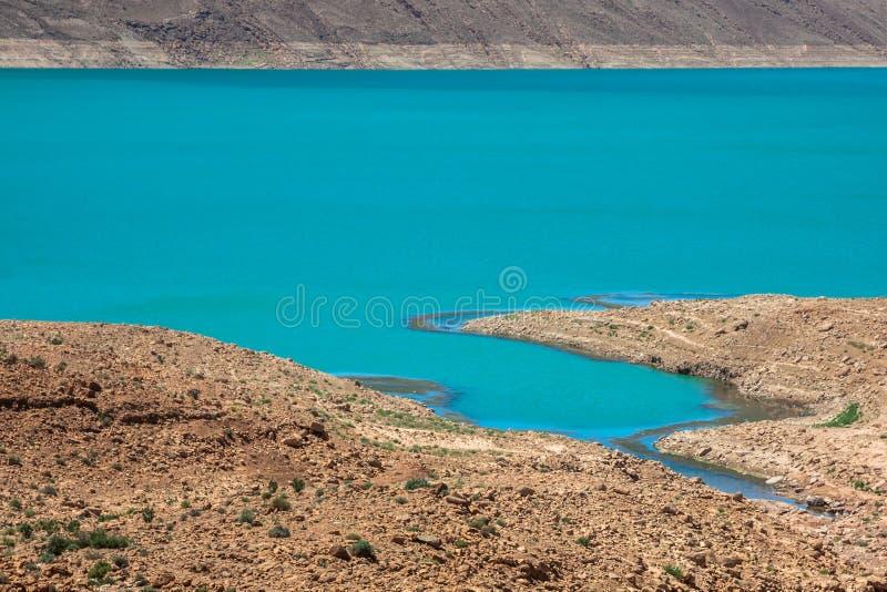 Jeziorny Hassan addakhil w Errachidia Maroko zdjęcia royalty free