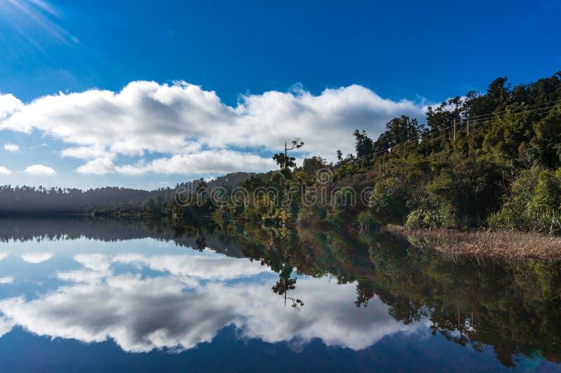 Jeziorny Ianthe na spokojnym słonecznym dniu zdjęcia royalty free
