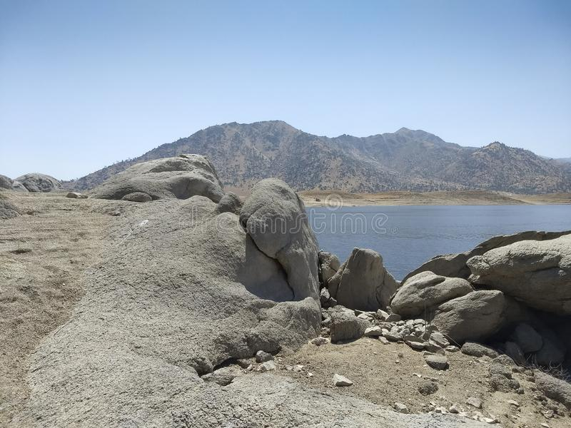 Jeziorny Isabella Panoramiczny widok obrazy royalty free