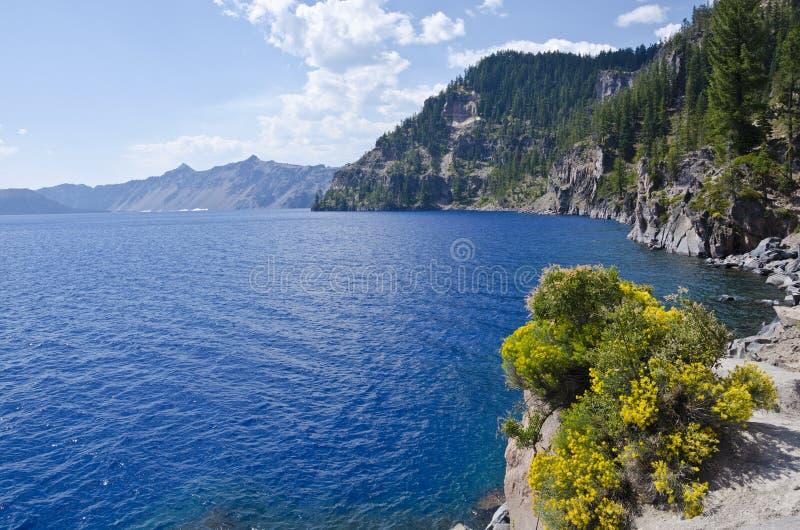 jeziorny krateru park narodowy usa zdjęcie royalty free