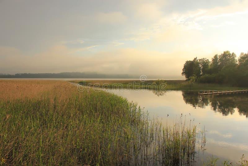 Jeziorny Ladoga, Karelia, Rosja zdjęcia royalty free