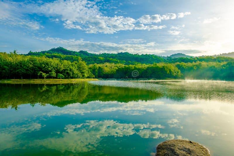 Jeziorny Lasowy Chet Khot zdjęcia stock